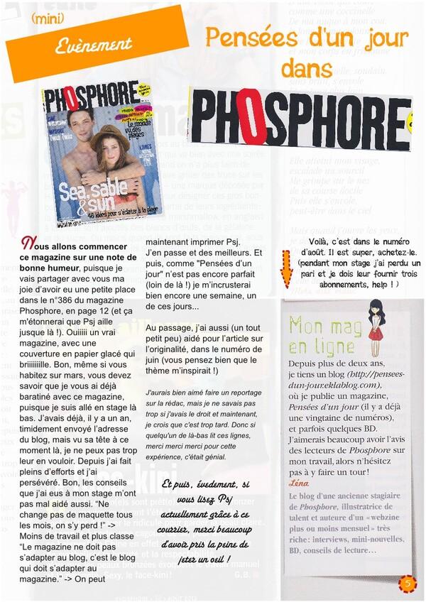 Psj dans Phosphore ! [Psj 23]