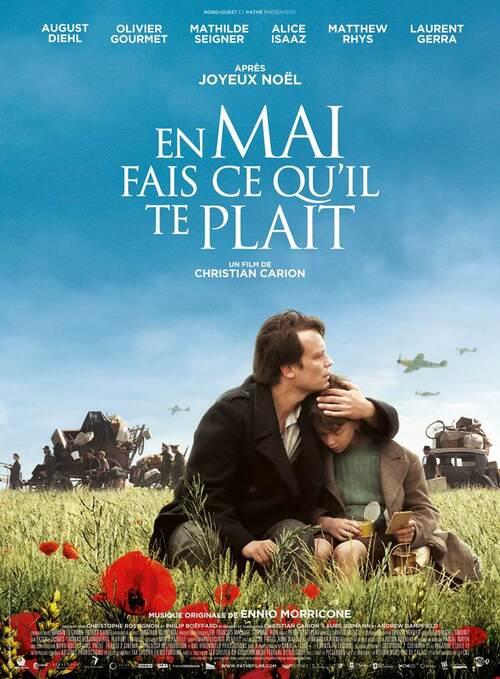 EN MAI FAIS CE QU'IL TE PLAIT de Christian Carion, au cinéma le 4 novembre 2015 - Découvrez l'affiche et partez sur la route avec le teaser !