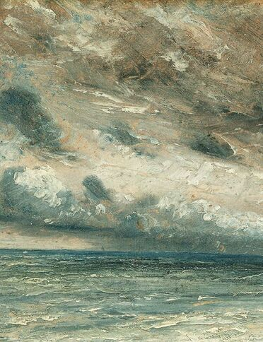 02 - Nuages dans la peinture au 19 eme siècle