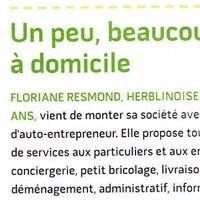 Magazine de la ville de Saint Herblain  2010