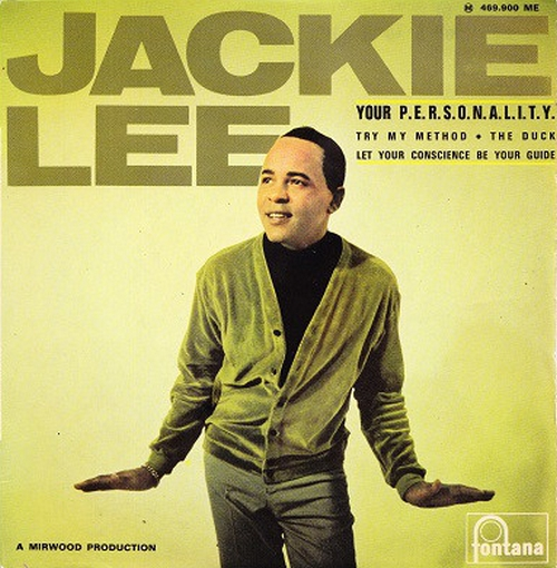 "Jackie Lee : CD "" The Duck : Early Singles 1957-1966 "" SB Records DP 104 [FR]"