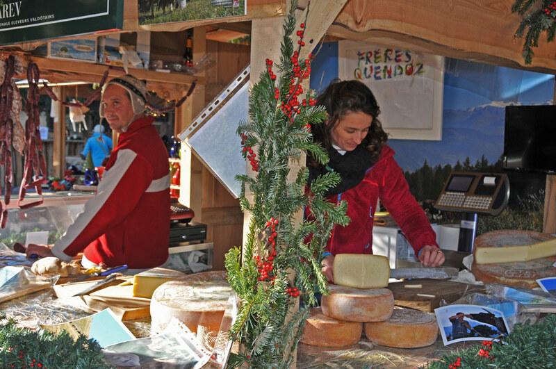 marché de Noel d'Aoste