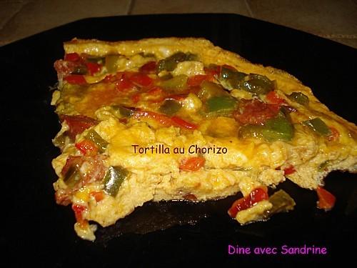 Tortilla au Chorizo 10