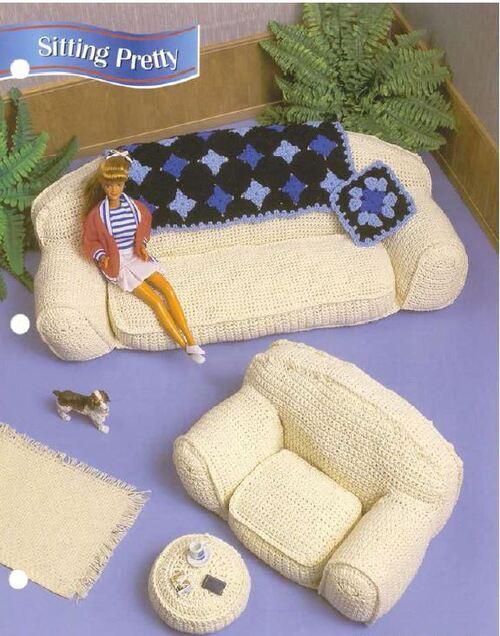 Un salon pour poupées