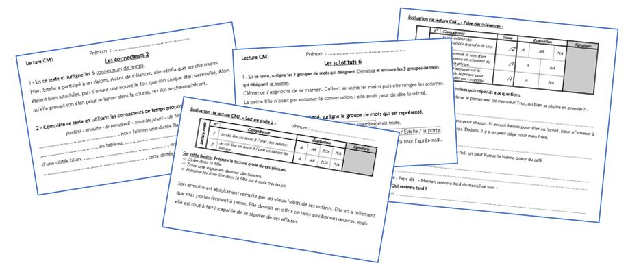 Exercices De Lecture Chez Monsieur Paul