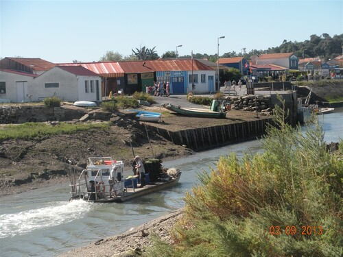 St Trojan - Les Cabanes de Pêcheurs