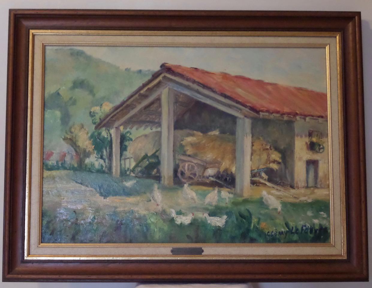 Encore des tableaux du coin peints par Clémy Le Febvre - Merci de nous aider à les situer
