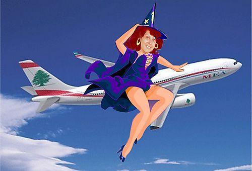Yvette pin up air Liban