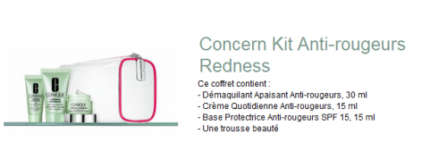 Kit anti-rougeurs CLINIQUE