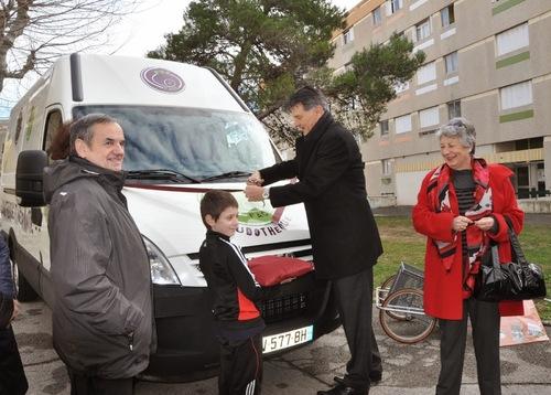 Inauguration du ludobus et de la nouvelle salle de la ludothèque