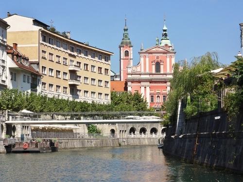Promenade en bâteau à Ljubljana en Slovénie (photos)