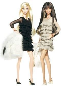 Barbie par couturiers