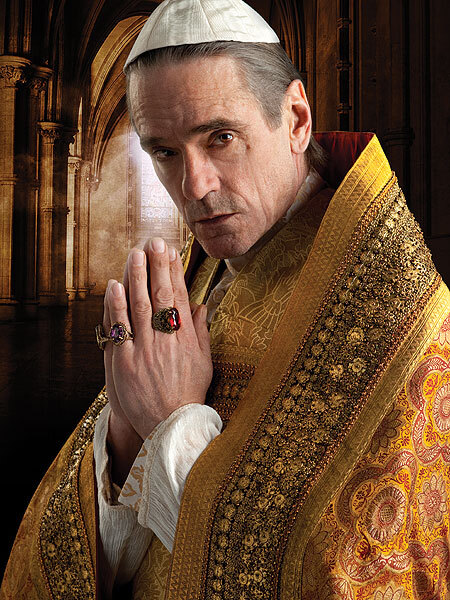 "Jeremy Irons as Rodrigo Borgia in ""The Borgias"""