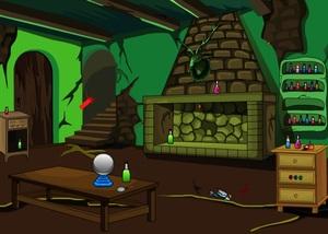 Jouer à Night green room escape