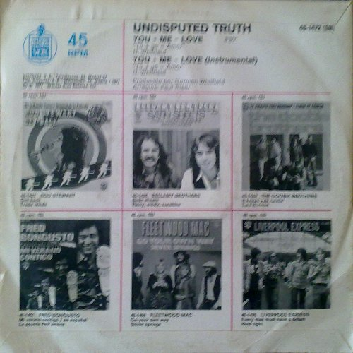 1976 : Single SP Whitfield Records WHI 8231 / WHI 8231 Promo [ US ]