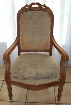 Relookage d'un fauteuil
