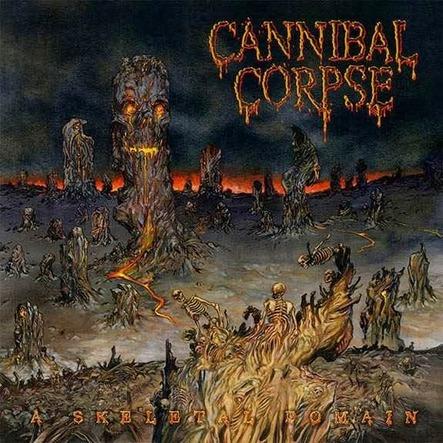 "Chronique Cannibal Corpse ""A Skeletal Domain"""