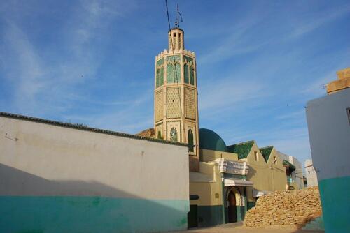 La mosquée au minaret octogonal