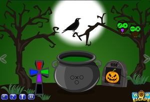 Jouer à Halloween trick or treat escape 4