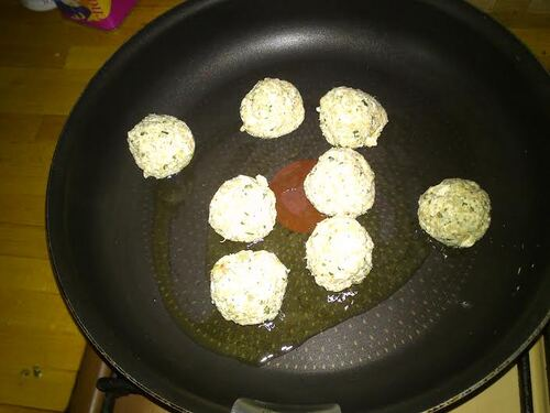 Boulettes Quinoa Tofu {Vegan]