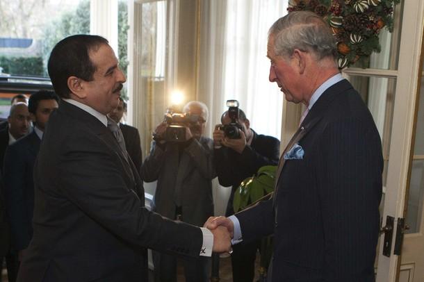 Charles et le roi
