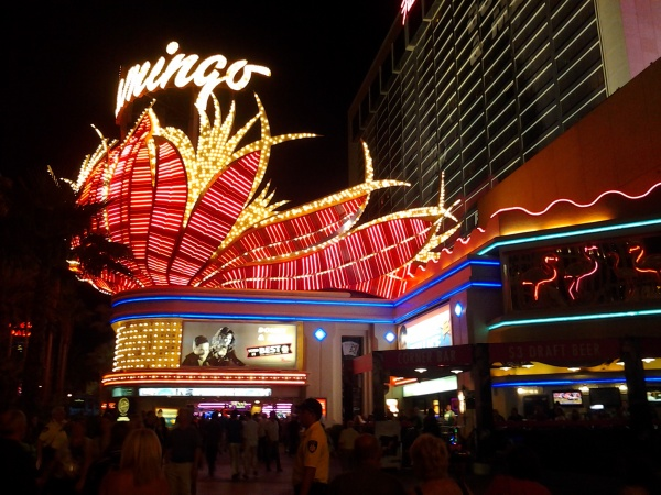 L'arrivée à Vegas.