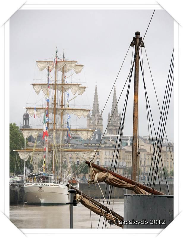 Le Cuauhtémoc sur les quais de Bordeaux - 2/2