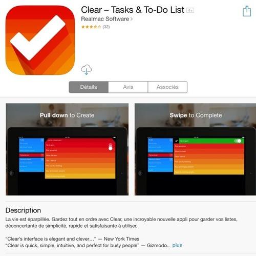 [appli] Clear