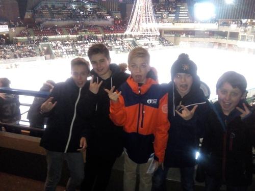 Soirée match de hockey du 6 janvier