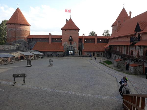 Circuit organisé dans les pays Baltes : 3 - Château de Trakai
