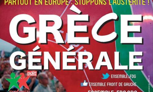 Solidarité Grèce nouveau rassemblement le 2 juillet à Aubenas