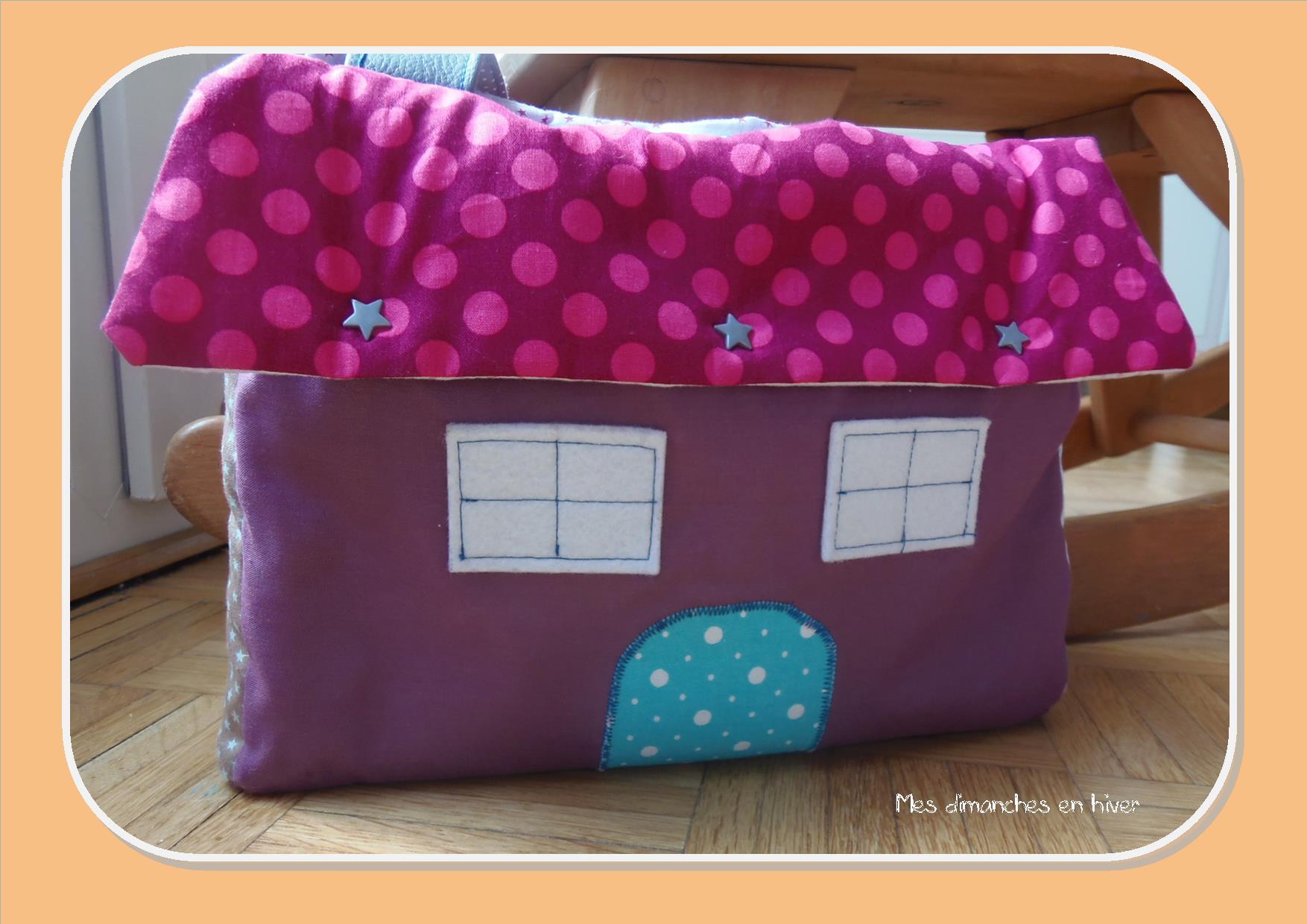 Fabriquer un sac maison de poupée mes dimanches en hiver