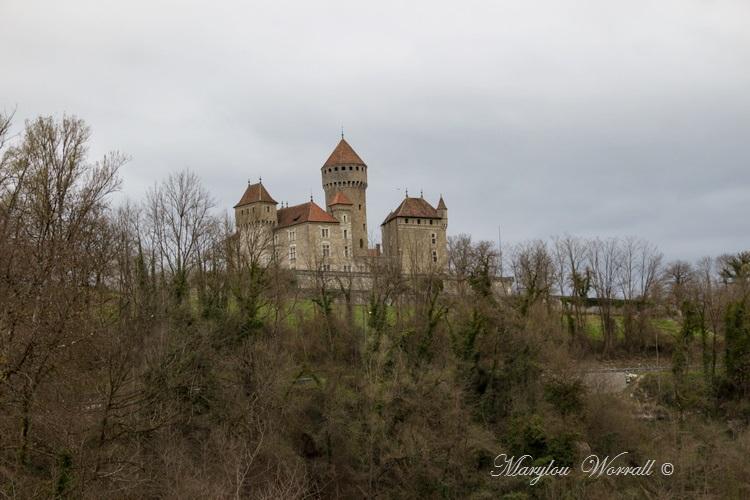 Pays de Savoie : Château de Montrottier