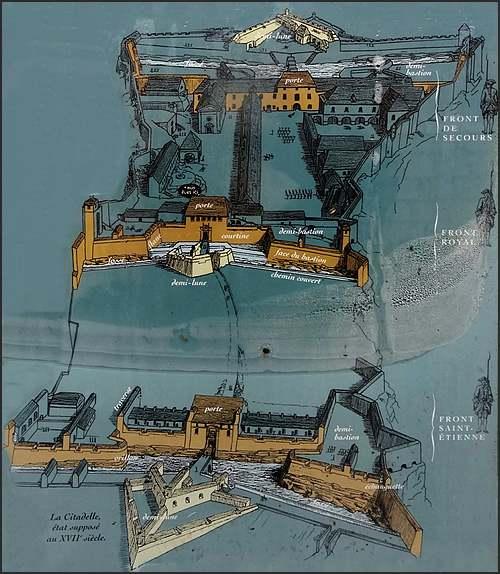 La citadelle du roi soleil : Besançon