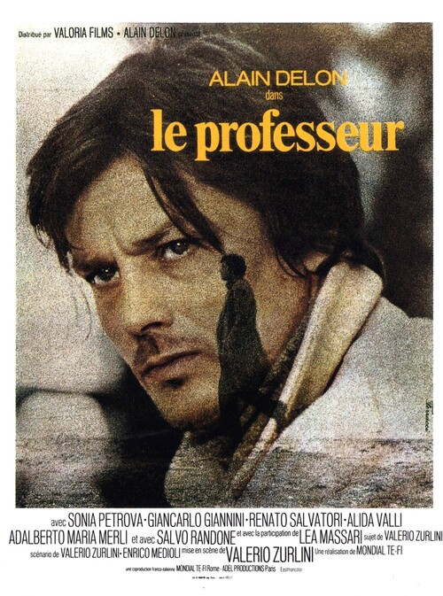 LE PROFESSEUR - BOX OFFICE ALAIN DELON 1972