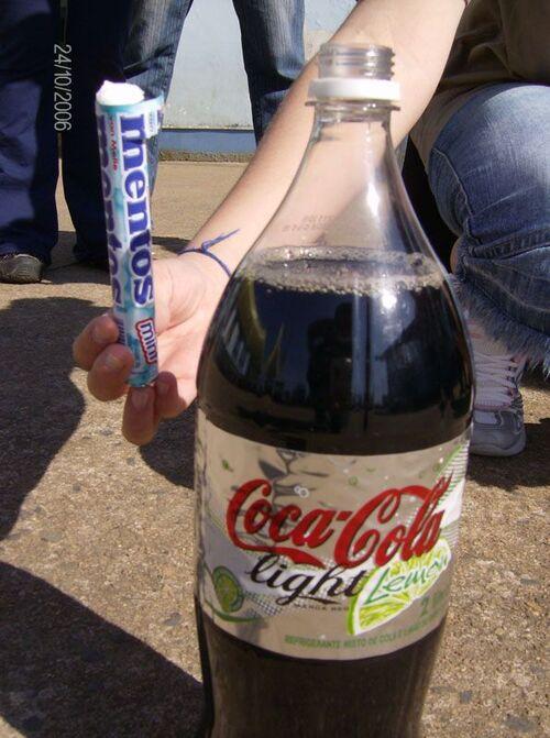 الكوكاكولا مع النعناع الحار تقتل
