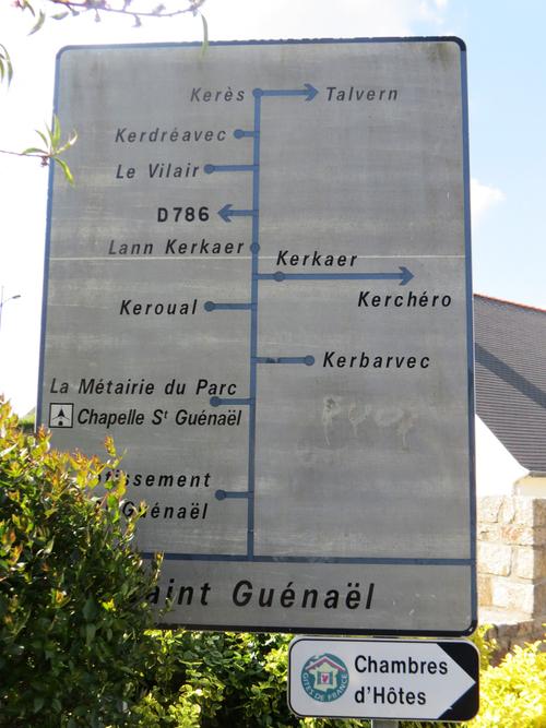 Saint Guenaël - Pluvigner - Chapelle et fontaine