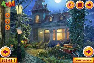 Jouer à AVM Mystery palace snowman escape