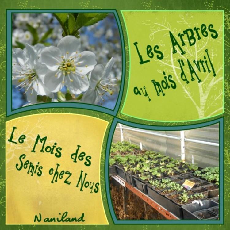 Avril dans vos Jardins