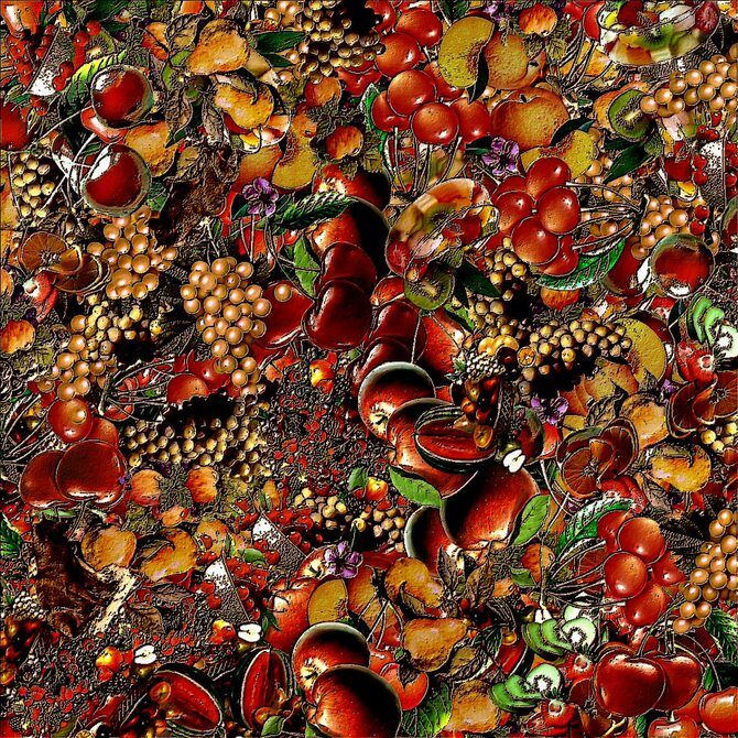 Collages multi-tubes (fruits)