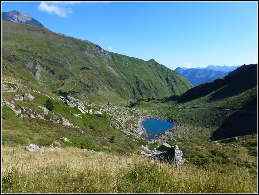 Souvenirs : Septembre 2014 : Hautes Pyrénées : refuge et lac d'Ilhéou 2/3