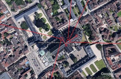 Les souterrains et cryptes de la cathédrale de Troyes, 15 septembre 2019. (Albert Fagioli)