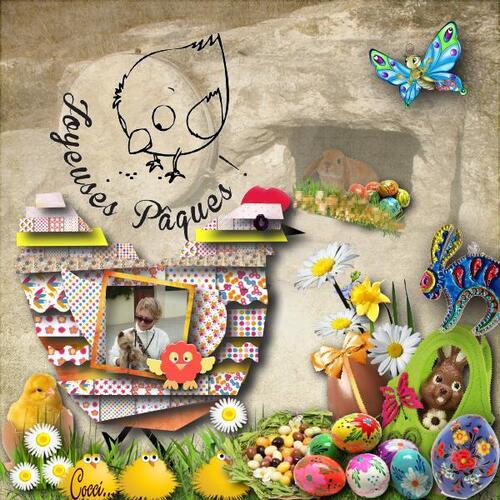 Joyeuses Pâques à toutes les petites Coccinelles qui passeons par ici .