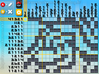 Méga-Tortank Pokémon Picross