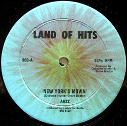 Ahzz - New York's Movin'