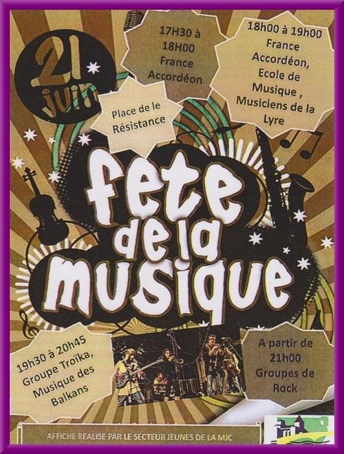 Fête de la Musique 2017 à Châtillon sur Seine