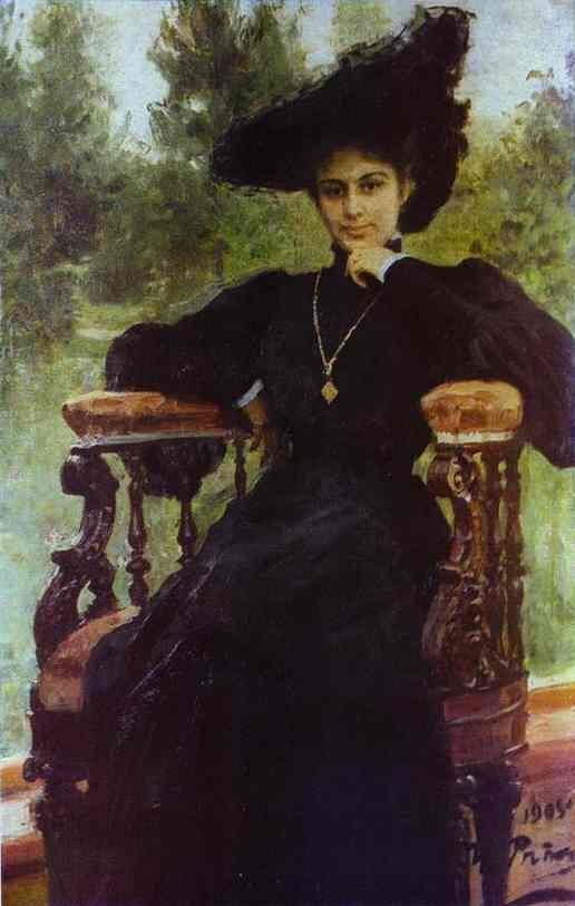 Portrait of Maria Andreeva - Ilya Repin