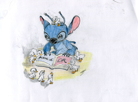 Le livre d'Or de Stitch