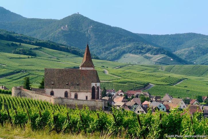 Le village d'Hunawihr, en Alsace