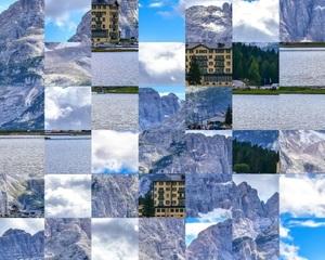 Jouer à Misurina mountains puzzle